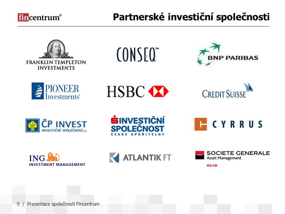 Partnerské investiční společnosti