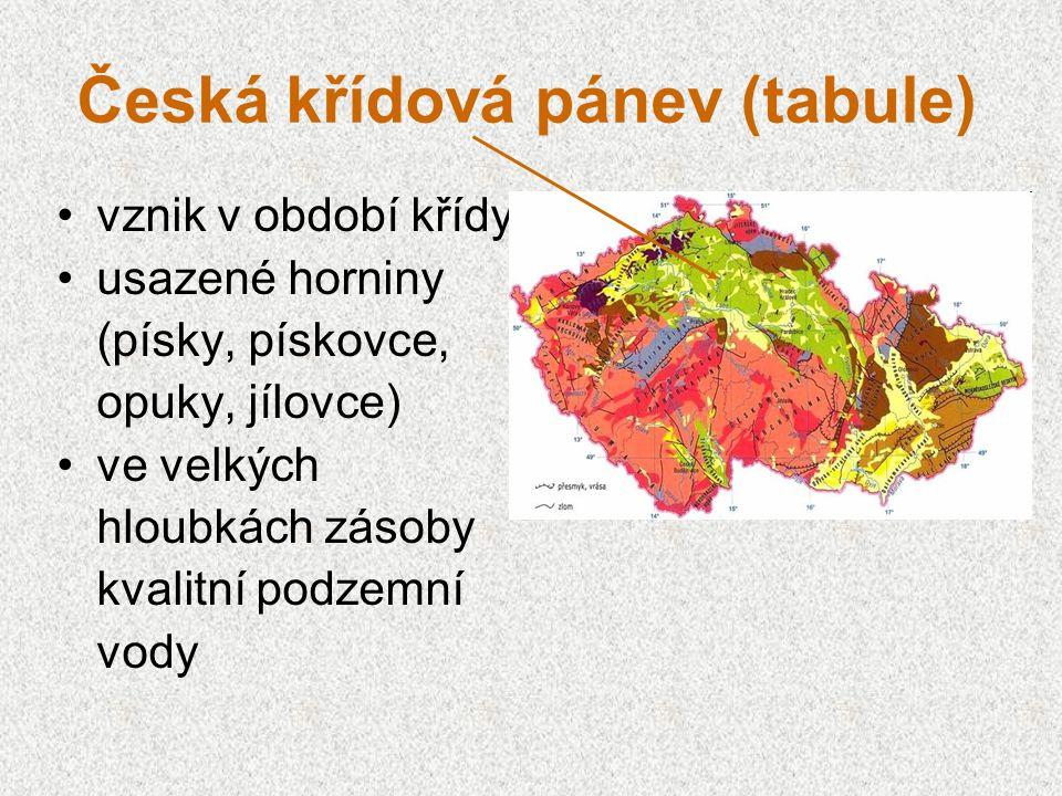 Česká křídová pánev (tabule)