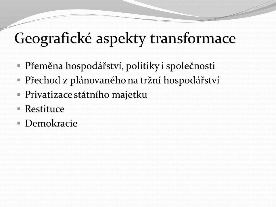 Geografické aspekty transformace