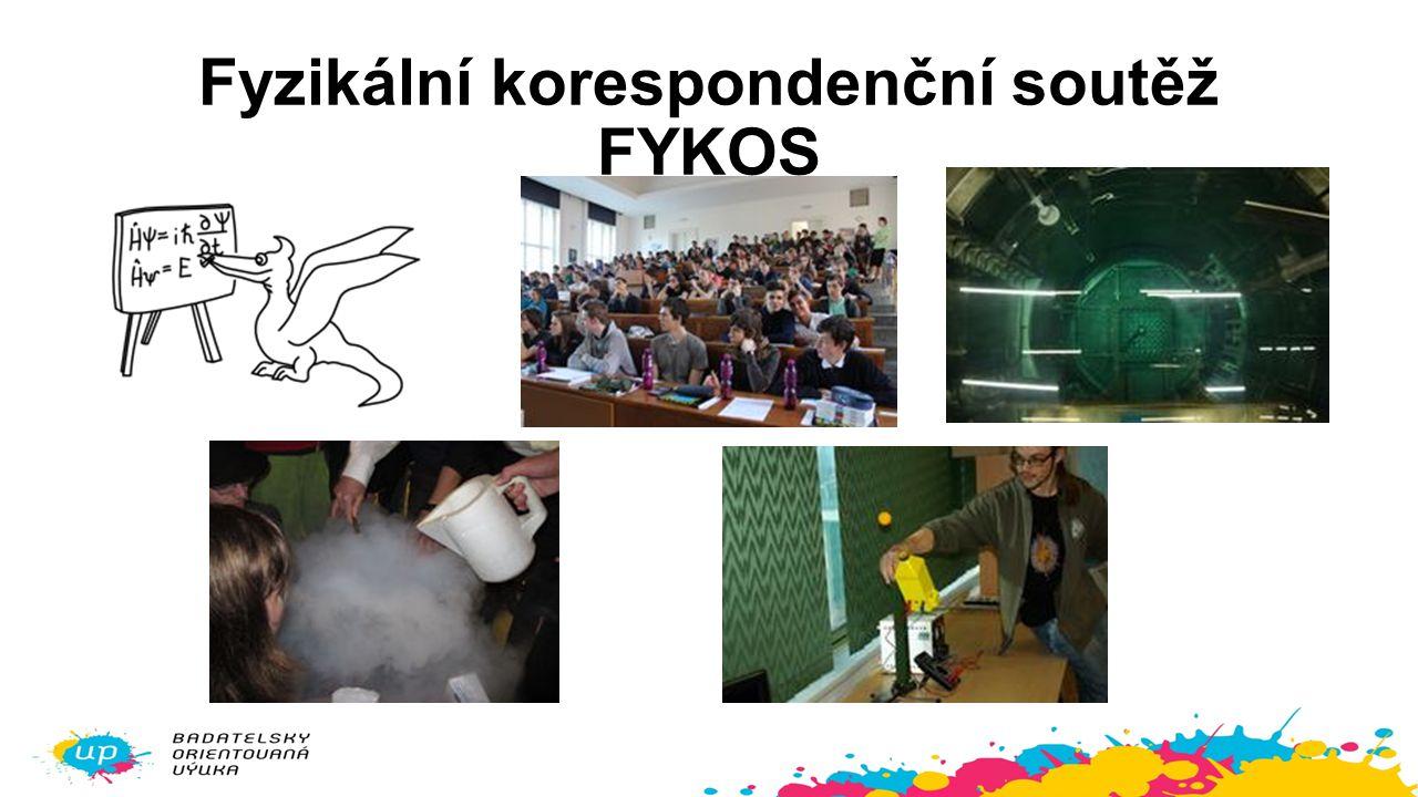 Fyzikální korespondenční soutěž FYKOS