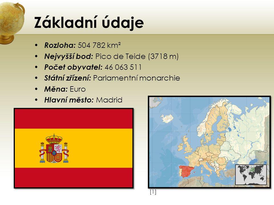 Základní údaje Rozloha: 504 782 km²