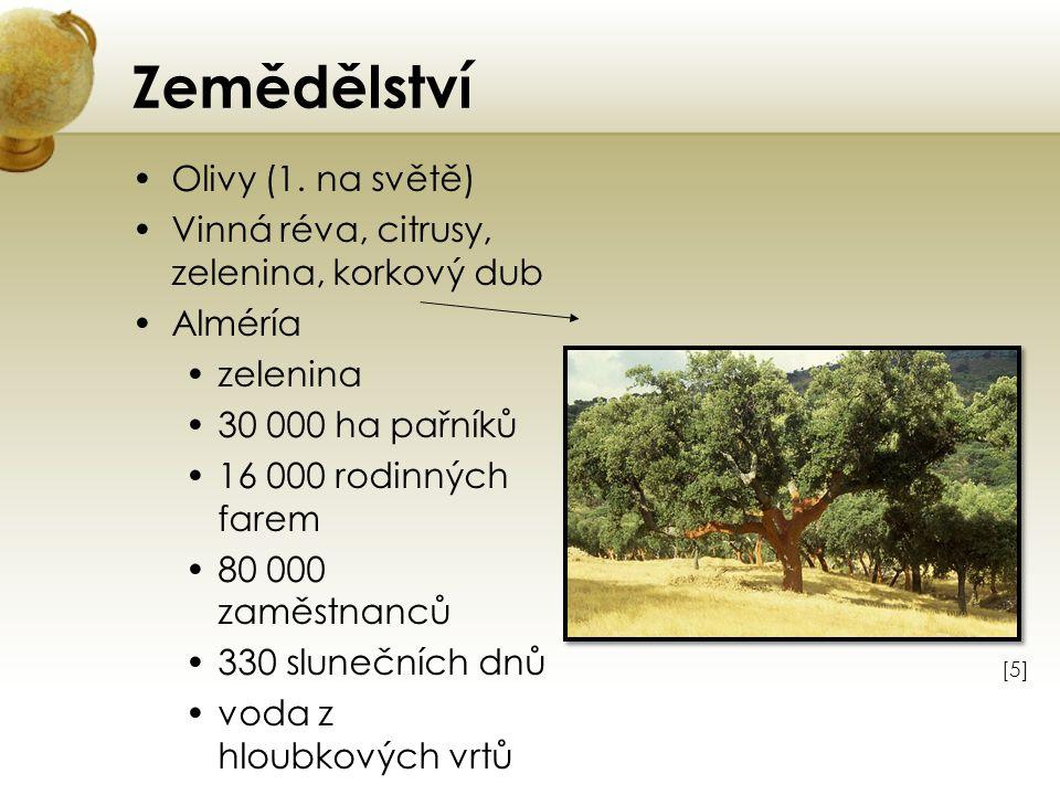 Zemědělství Olivy (1. na světě)