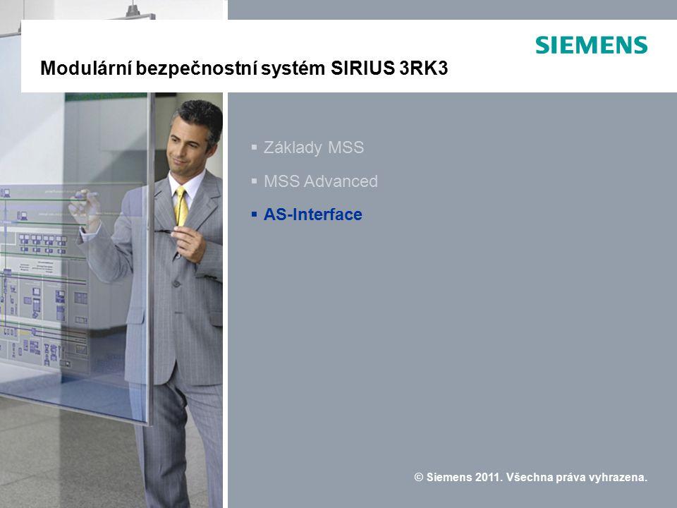 Modulares Sicherheitssystem SIRIUS 3RK3