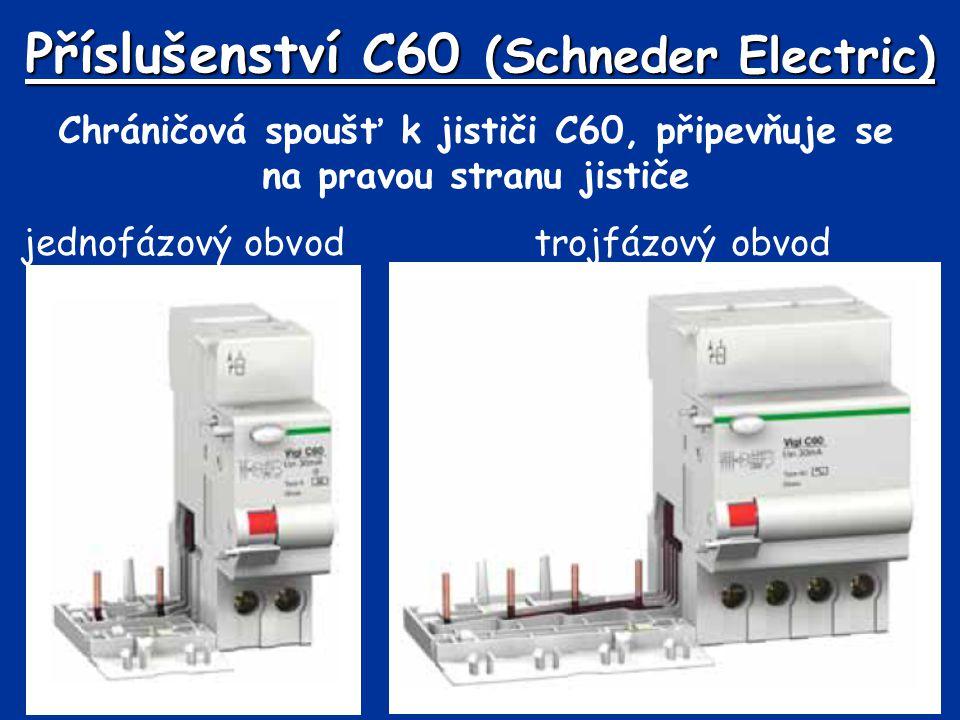 Příslušenství C60 (Schneder Electric)