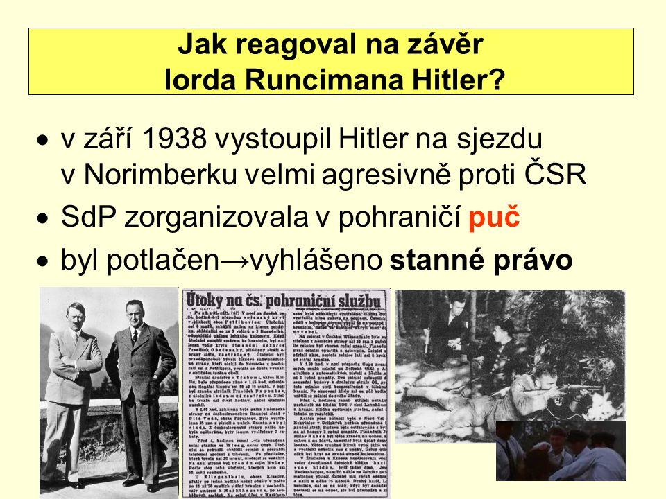 lorda Runcimana Hitler