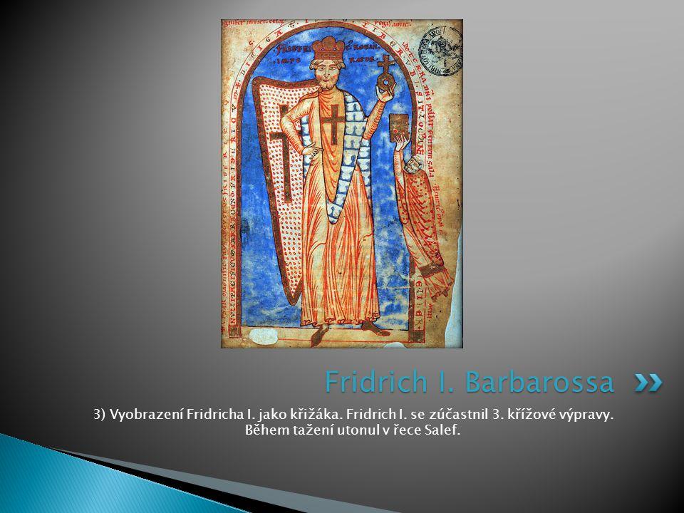Fridrich I. Barbarossa 3) Vyobrazení Fridricha I.