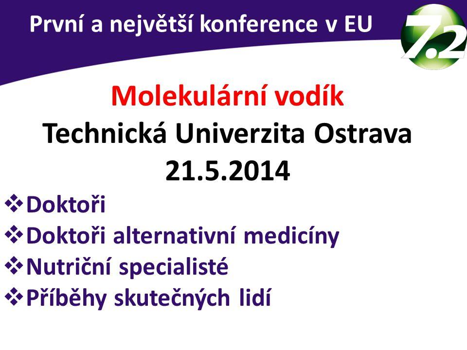 Technická Univerzita Ostrava 21.5.2014