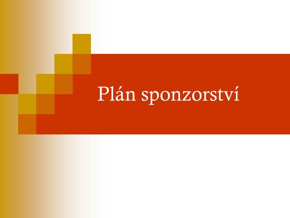 Plán sponzorství