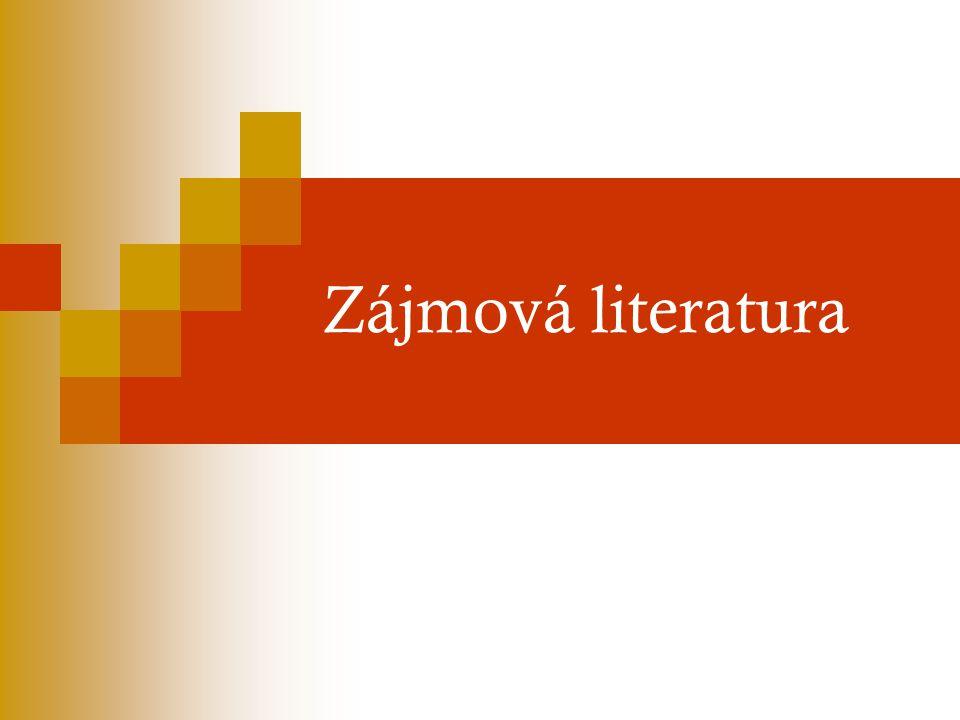Zájmová literatura