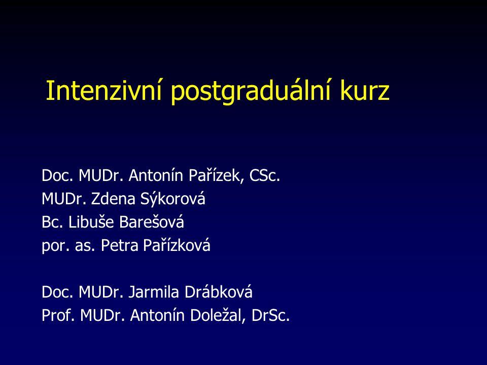 Intenzivní postgraduální kurz