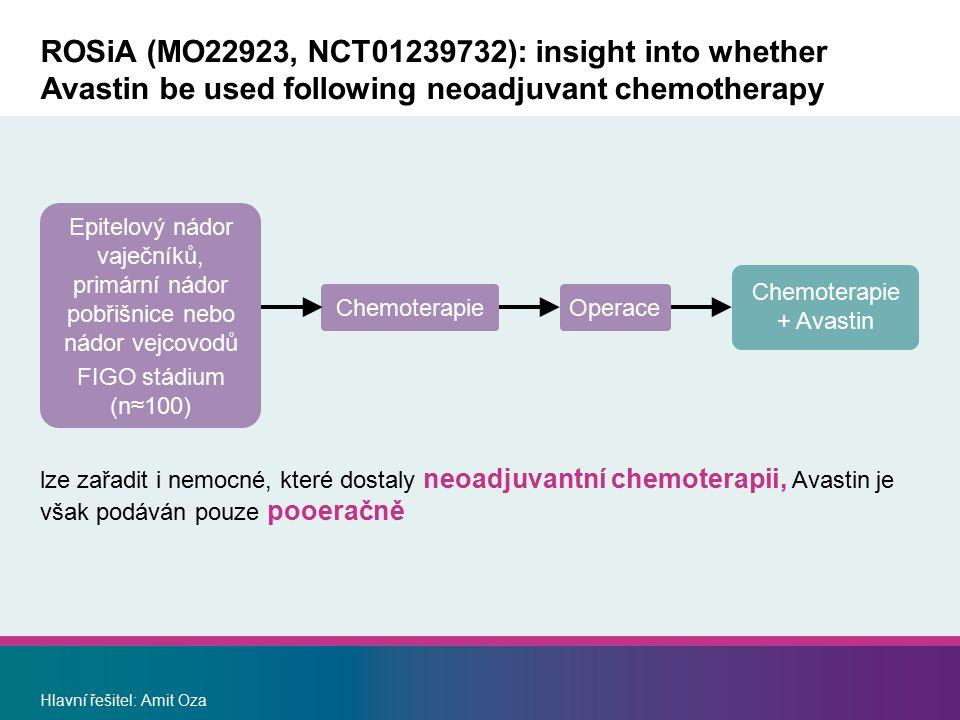 Chemoterapie + Avastin