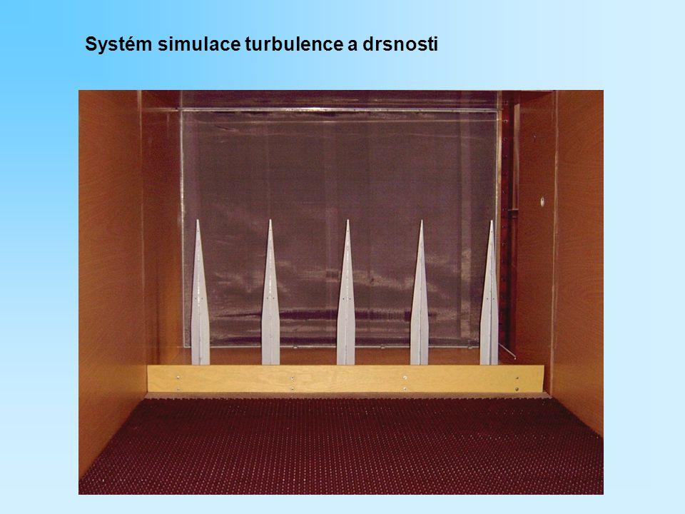 Systém simulace turbulence a drsnosti