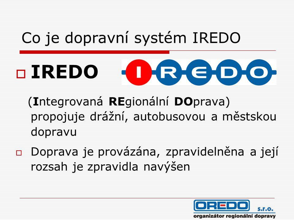 Co je dopravní systém IREDO