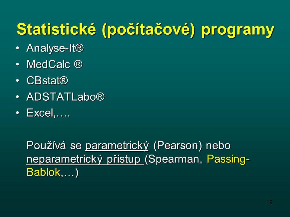 Statistické (počítačové) programy