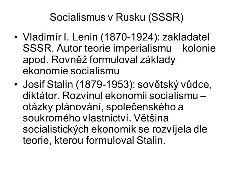 Socialismus v Rusku (SSSR)