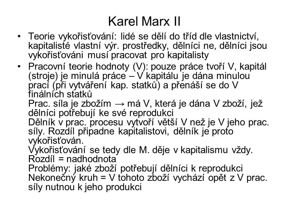 Karel Marx II