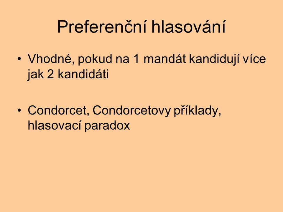 Preferenční hlasování