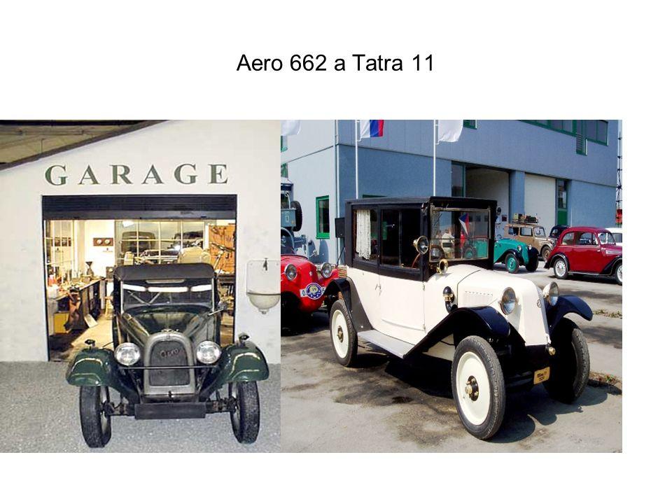 Aero 662 a Tatra 11