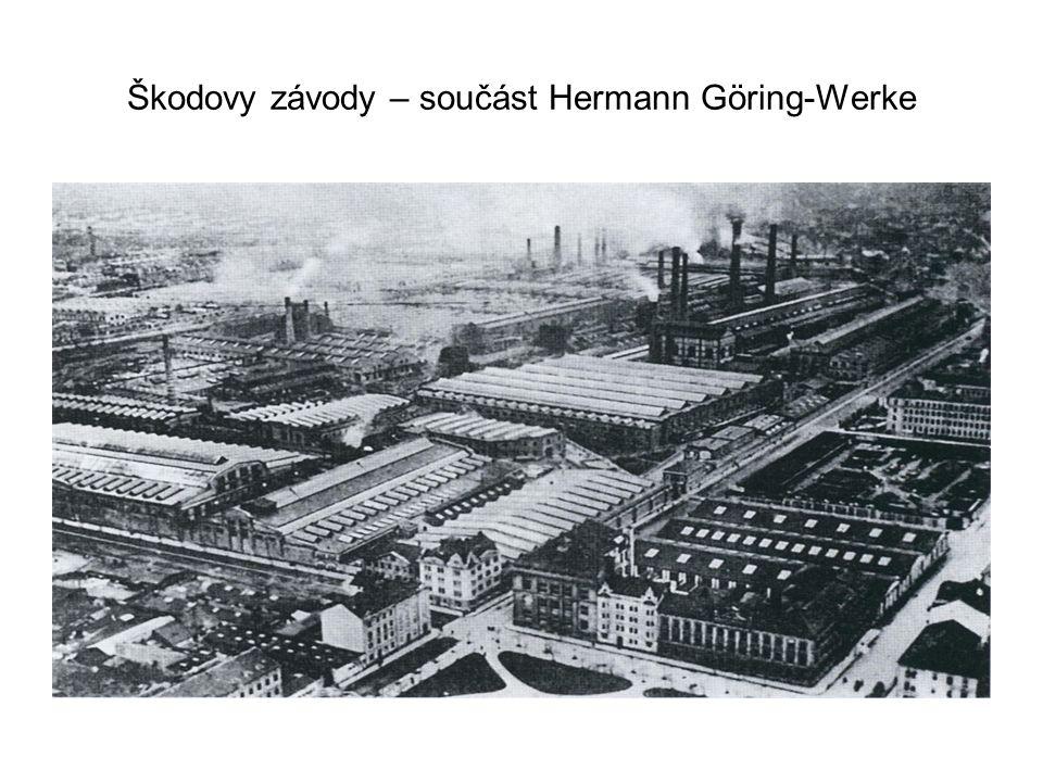 Škodovy závody – součást Hermann Göring-Werke