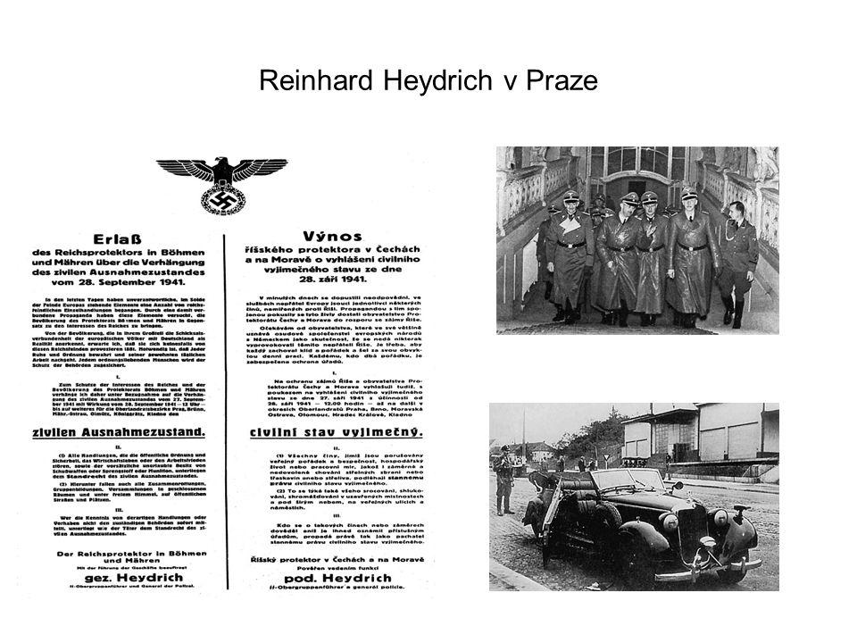 Reinhard Heydrich v Praze