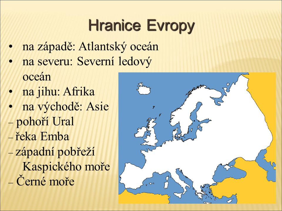 Hranice Evropy na západě: Atlantský oceán