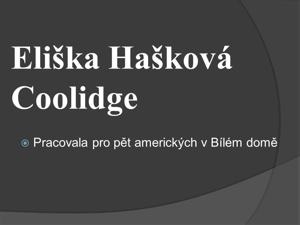 Eliška Hašková Coolidge