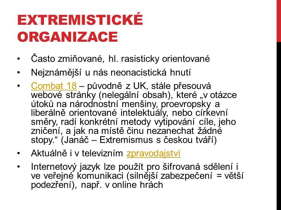 Extremistické organizace