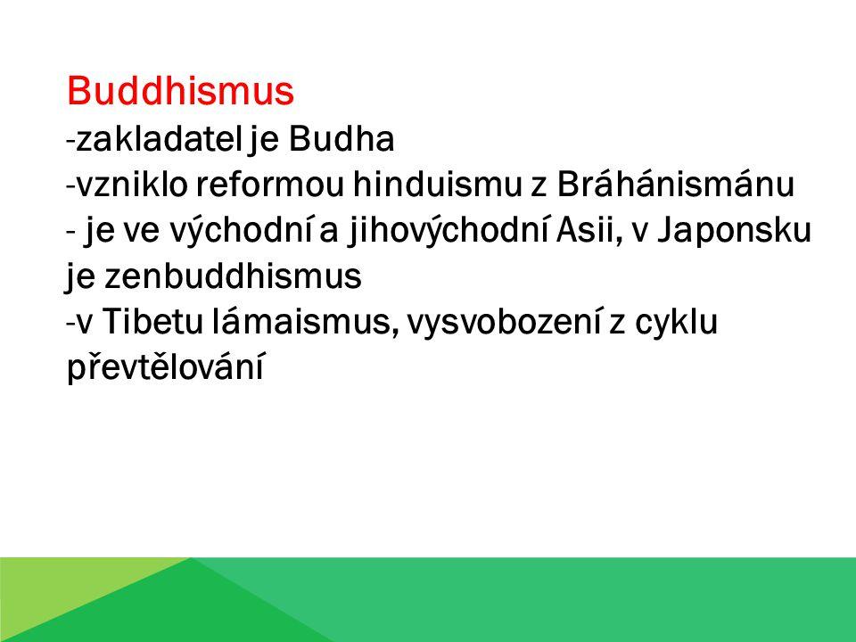 Buddhismus zakladatel je Budha