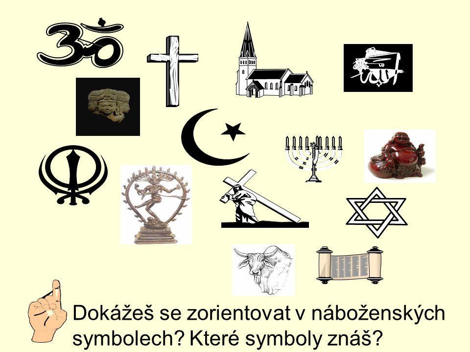 Dokážeš se zorientovat v náboženských symbolech Které symboly znáš