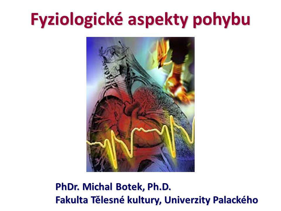 Fyziologické aspekty pohybu