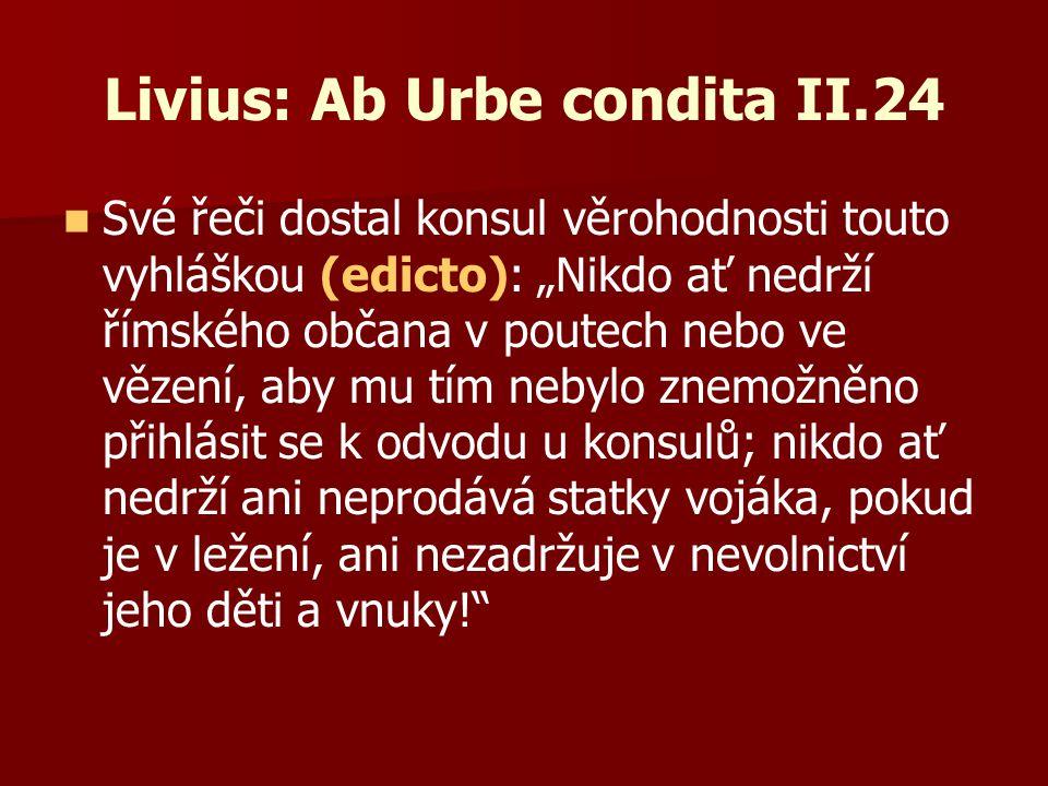 Livius: Ab Urbe condita II.24