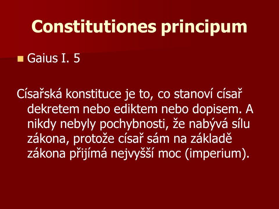 Constitutiones principum
