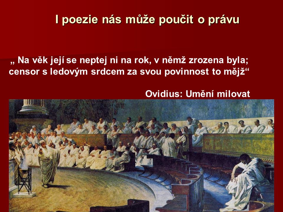 I poezie nás může poučit o právu