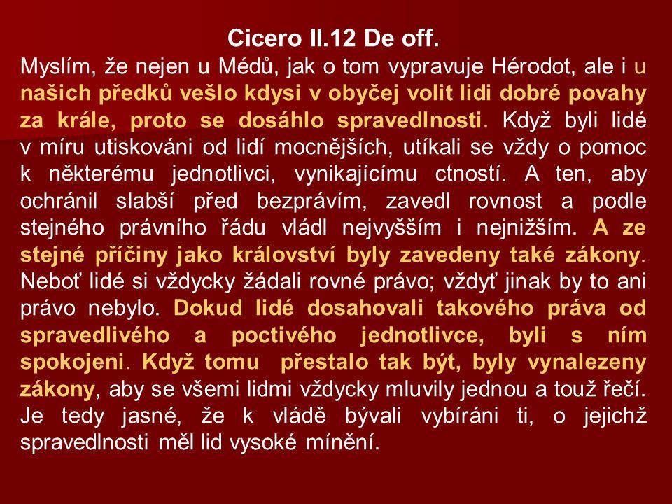 Cicero II.12 De off.