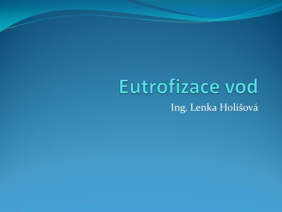 Eutrofizace vod Ing. Lenka Holišová