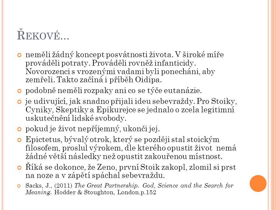 Řekové...