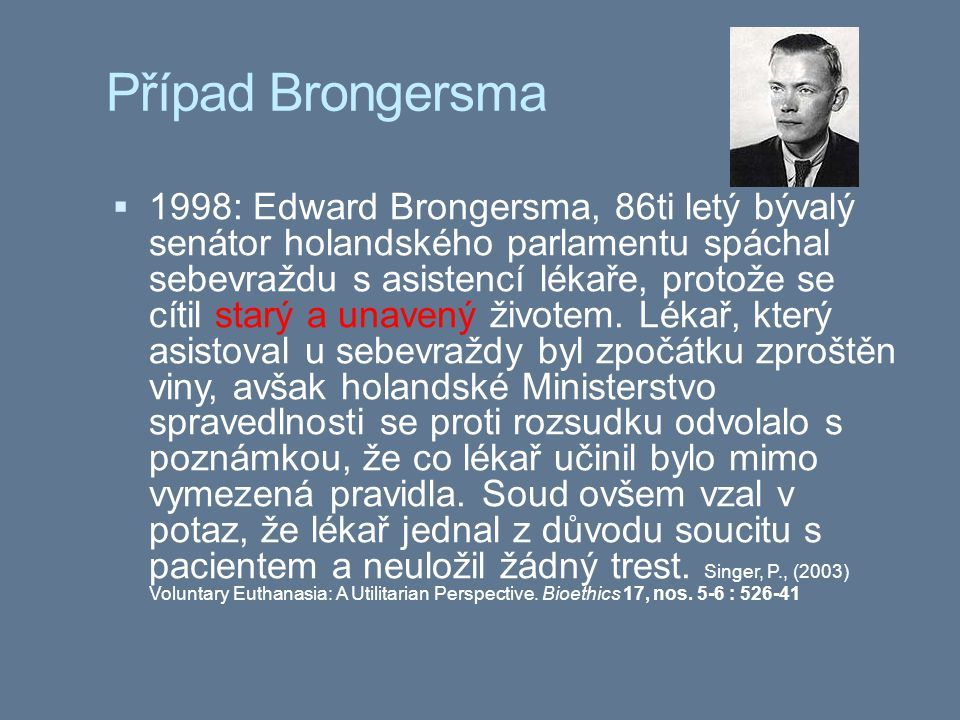 Případ Brongersma