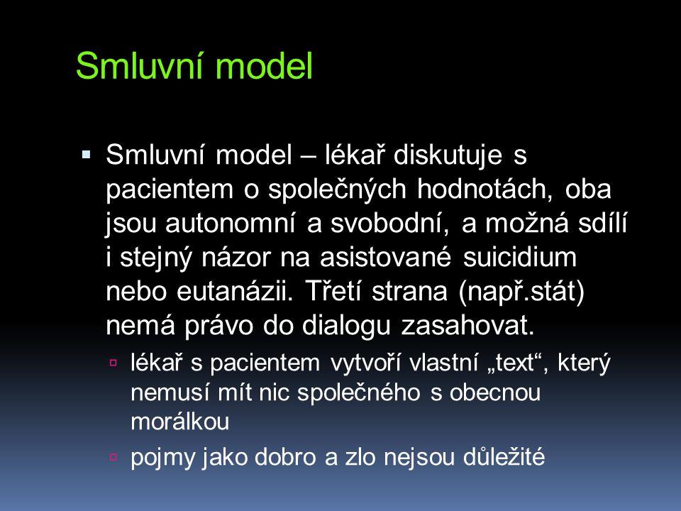 Smluvní model