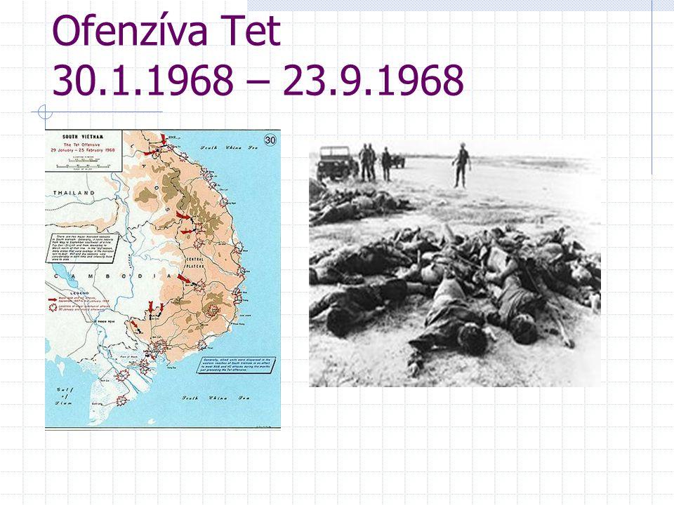 Ofenzíva Tet 30.1.1968 – 23.9.1968