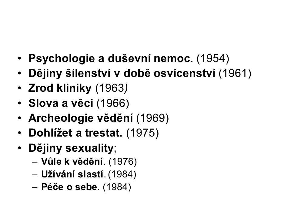 Psychologie a duševní nemoc. (1954)