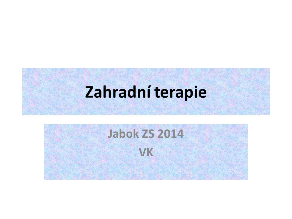 Zahradní terapie Jabok ZS 2014 VK