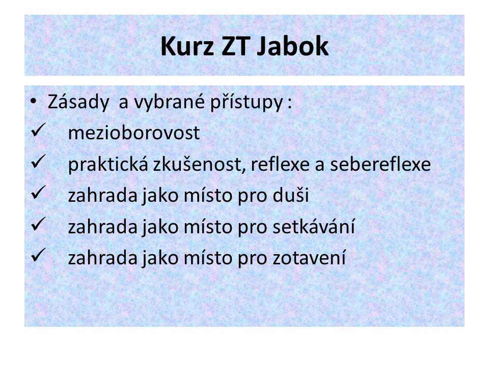 Kurz ZT Jabok Zásady a vybrané přístupy : mezioborovost