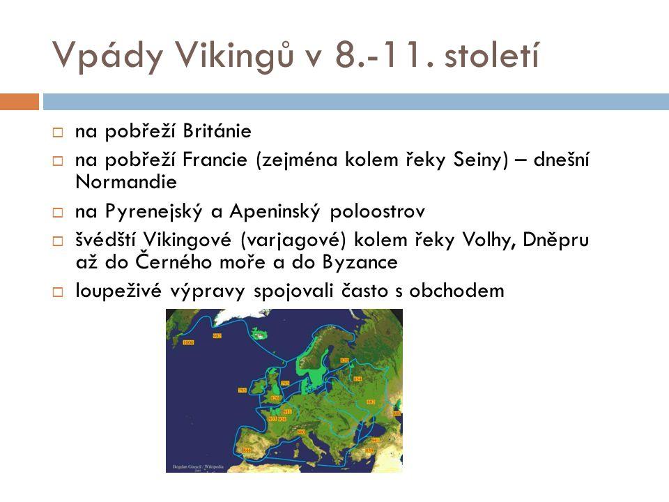 Vpády Vikingů v 8.-11. století