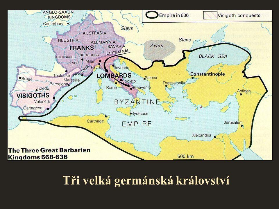 Tři velká germánská království