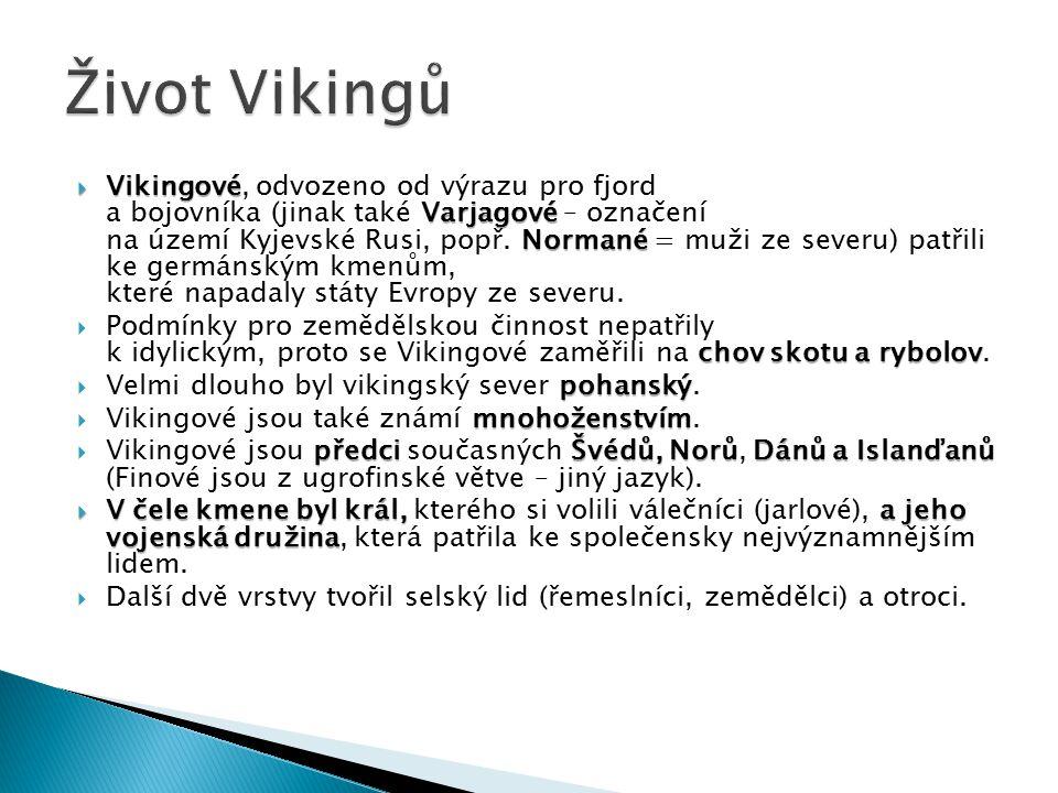 Život Vikingů