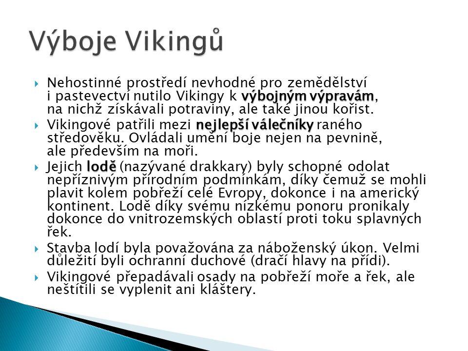 Výboje Vikingů