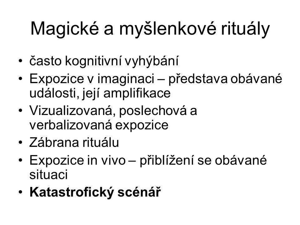 Magické a myšlenkové rituály