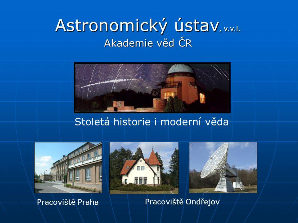Astronomický ústav, v.v.i. Akademie věd ČR