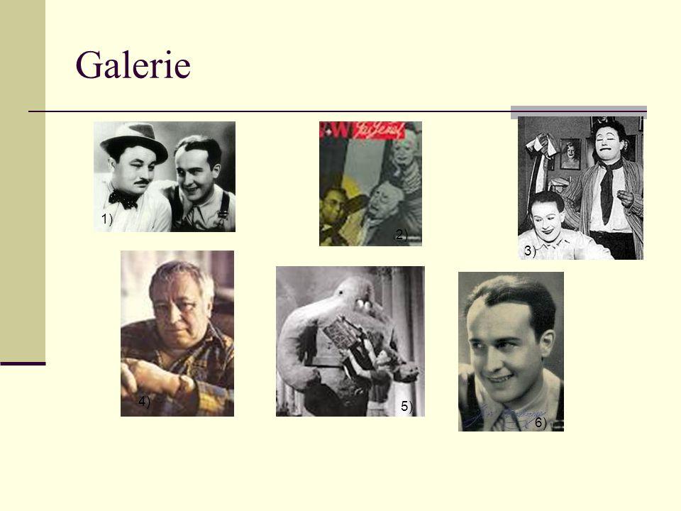 Galerie 1) 2) 3) 4) 5) 6)