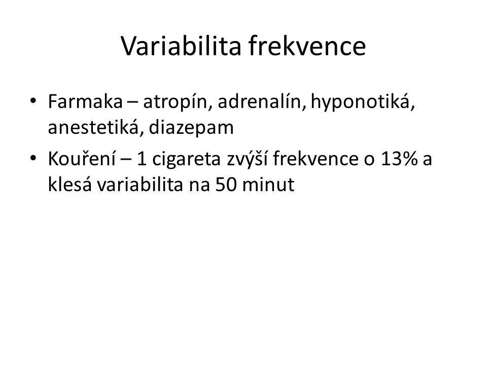 Variabilita frekvence